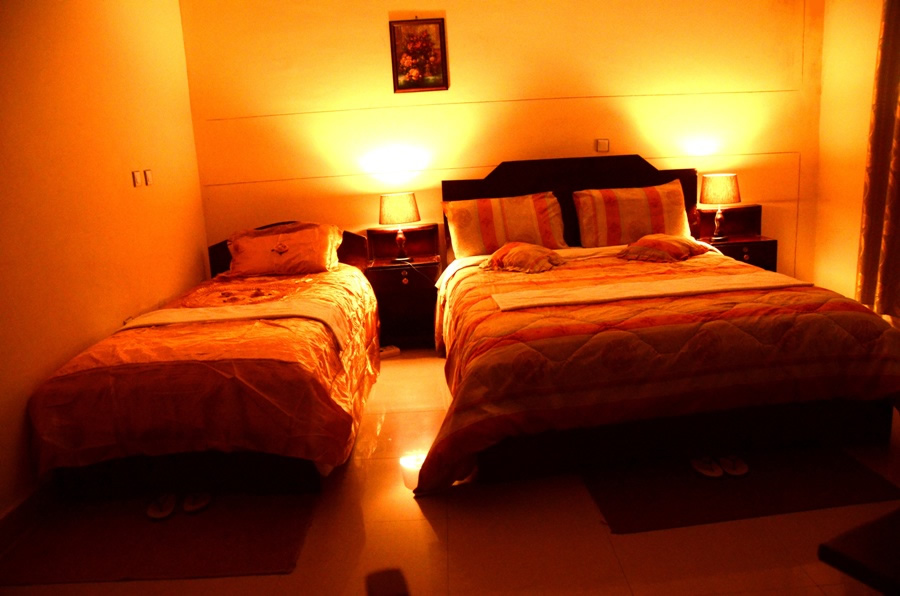Large Twin Bed Room